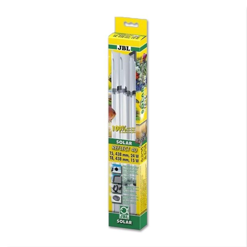 JBL Solar Reflect 40 Riflettore per Neon T8 15W/T5 24W 438mm