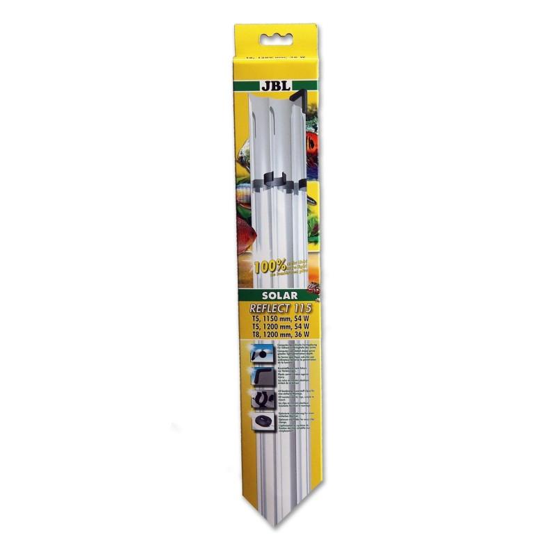 JBL Solar Reflect 115 Riflettore per Neon T8 36W/T5 54W 1200mm
