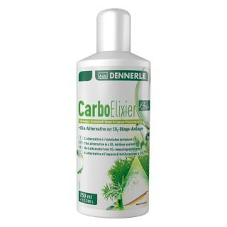 Dennerle 3111 Carbo Elixier Bio 250ml - Fertilizzante al carbonio liquido a base puramente naturale