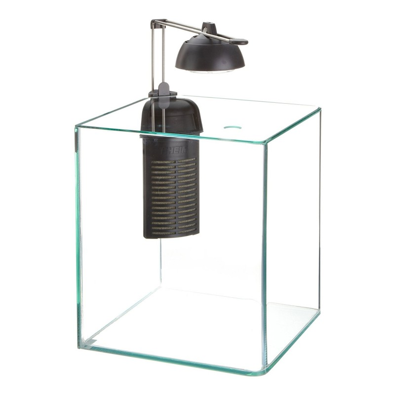 Eheim AquaStyle 16 Nano Aquarium Set - Completo di Illuminazione a Led Filtro + Materiale Filtrante per acquario