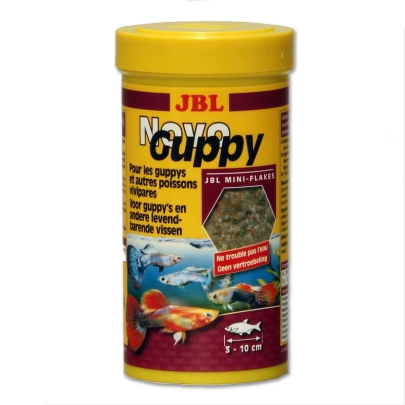 JBL Novo Guppy 250 ml mangime per guppy pesci d'acquario