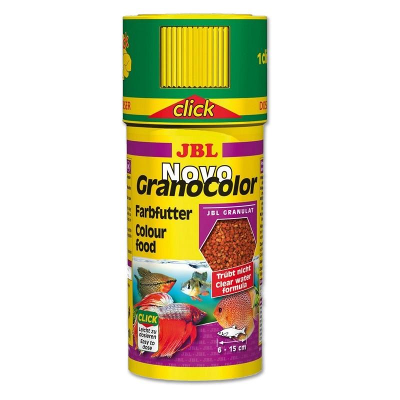 JBL Novo GranoColor Click 250 ml Esalta i colori di tutti i pesci d'acquario