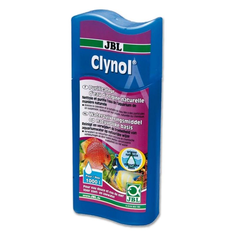 JBL Clynol 250ml per 1000lt depuratore d'acqua su base naturale per acquario