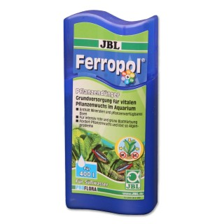 JBL Ferropol fertilizzante liquido completo con microelementi 100ml per 400lt per acquario