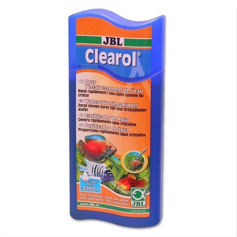 JBL Clearol Chiarificante 250ml per 1000lt per acquario