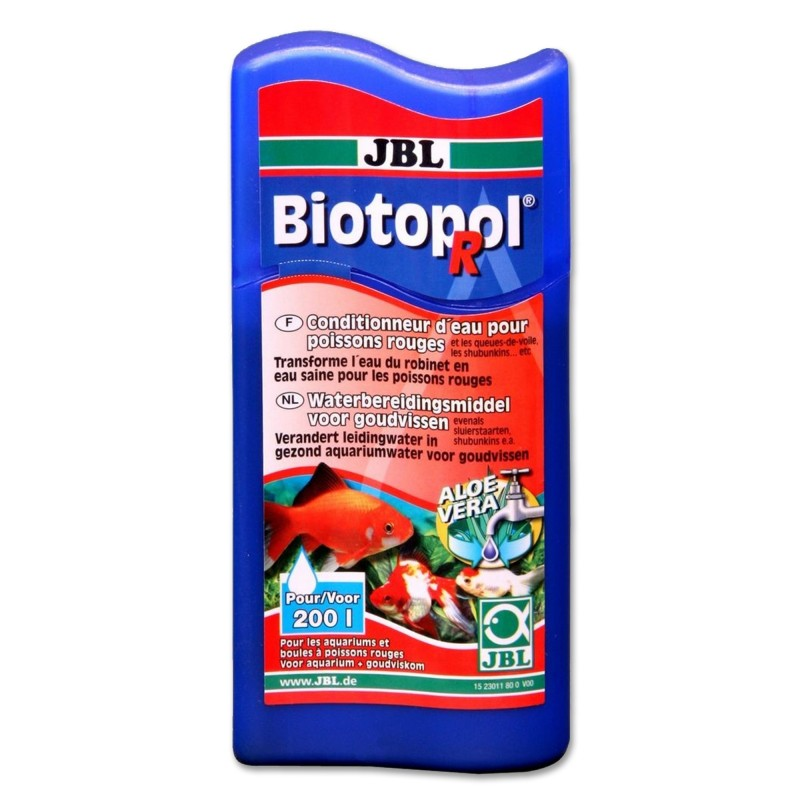 JBL Biotopol R 100 ml Biocondizionatore per acqua per pesci rossi