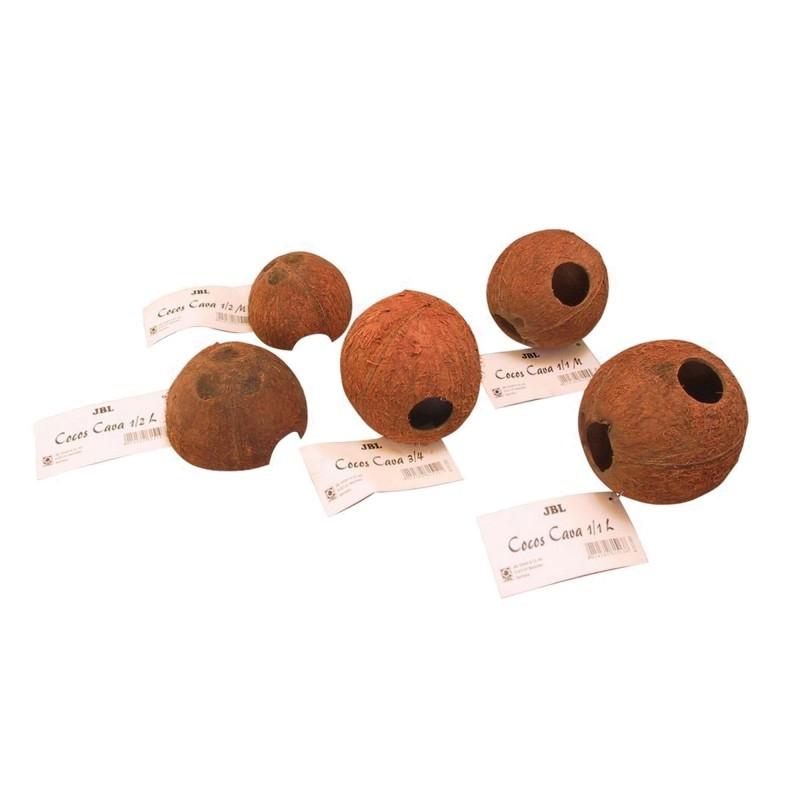 JBL COCOS CAVA 1-2 M Grotte in gusci di noci di cocco per acquario