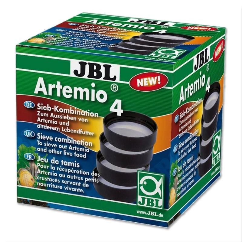JBL Artemio 4 Set di Setacci Circolari con maglie diverse per la Raccolta dei Naupli di Artemie Pezzi 4