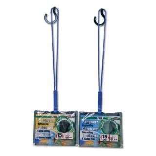 JBL RETINO per acquario PREMIUM 15 - 40 cm con maglia larga con rete nera