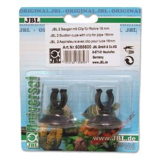 JBL Ventose con clip 16 mm 2 pezzi