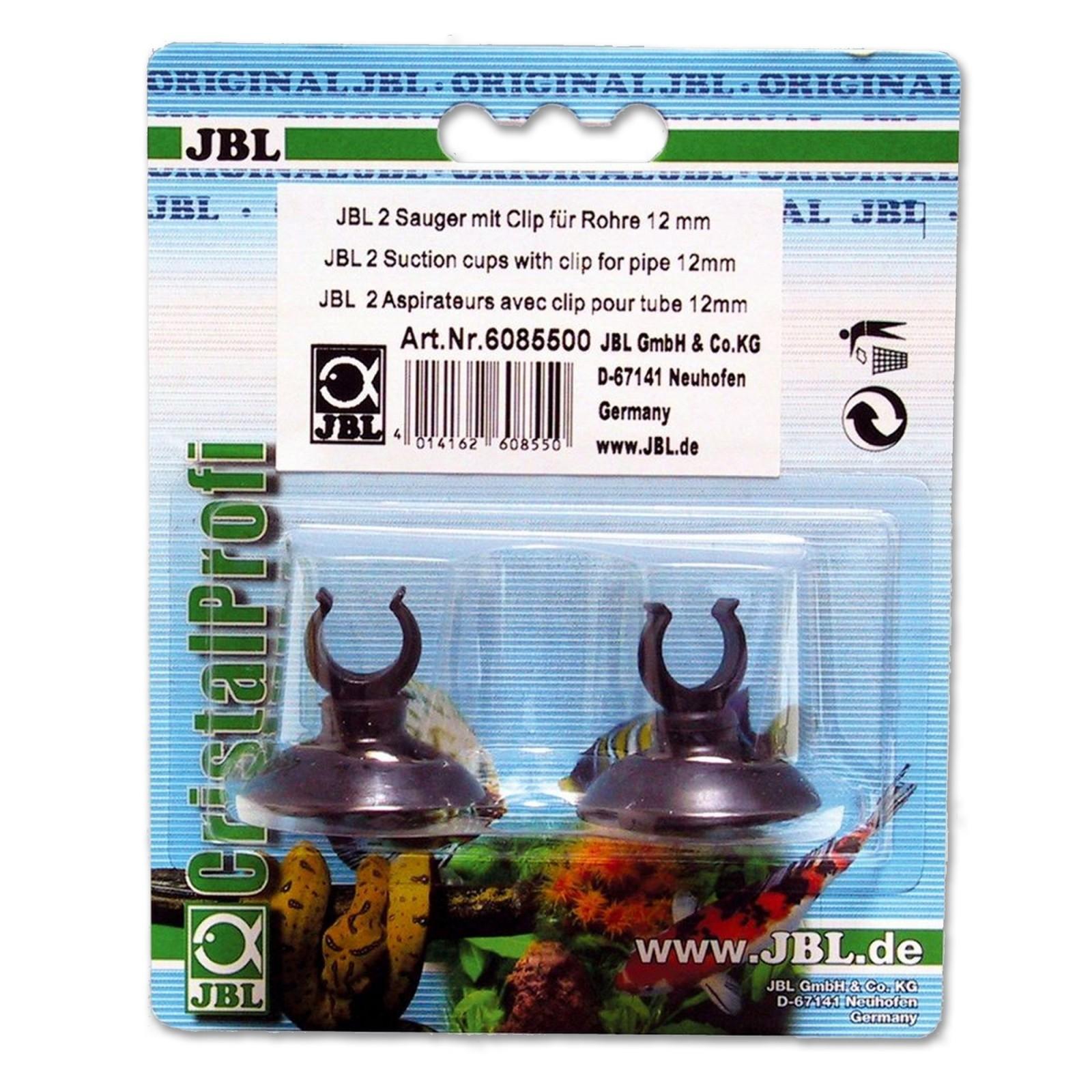 JBL Ventosa con clip 12 mm 2 pezzi