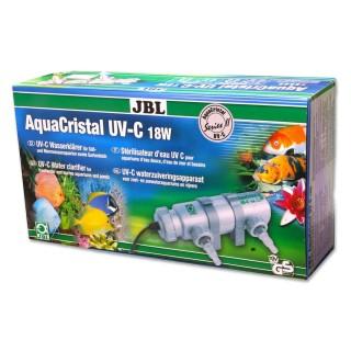 JBL AquaCristal Sterilizzatore UV-C 18 Watt Serie II lampada UV per acquario e laghetti