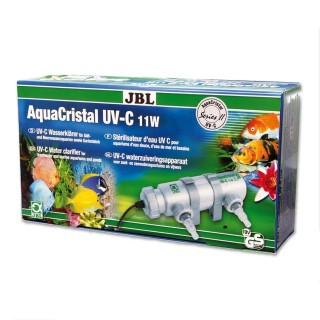 JBL AquaCristal Sterilizzatore UV-C 11 Watt Serie II lampada UV per acquario e laghetti