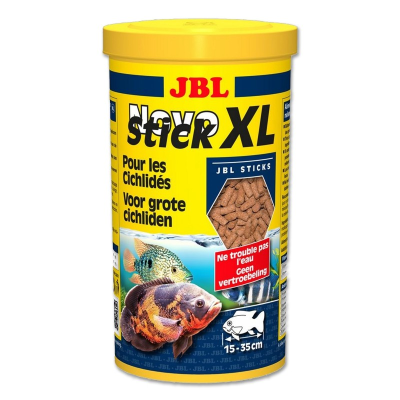JBL Novo Stick XL 1 lt mangime per ciclidi pesci d'acquario