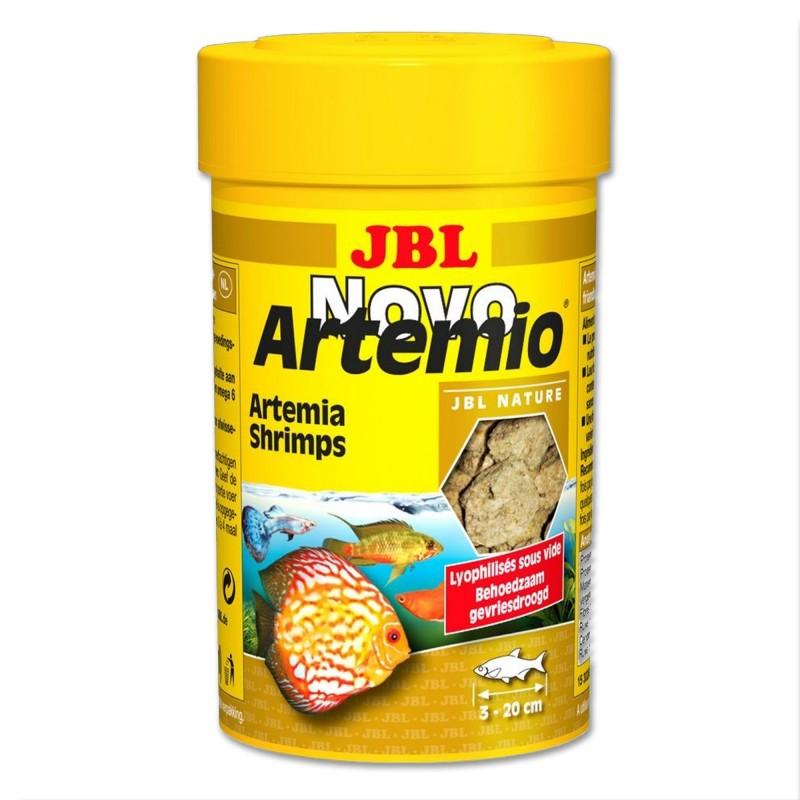 JBL Novo Artemio 100 ml mangime di artemia liofilizzata per pesci d'acquario