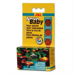 JBL Novo Baby 3x10 ml mangime d'allevamento per pesci vivipari