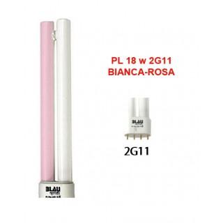 Blau Aquaristic LAMPADA PL  18W bianca-rosa 2G11 luce per acquario fitostimolante per piante
