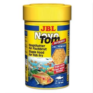 JBL Novo Tom Artemia 100ml/60 g Mangime in polvere per avannotti