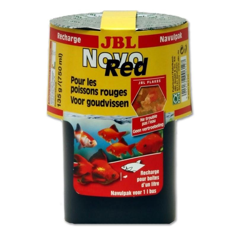 JBL Ricarica Novo Red 750 ml mangime per pesci rossi  d'acquario