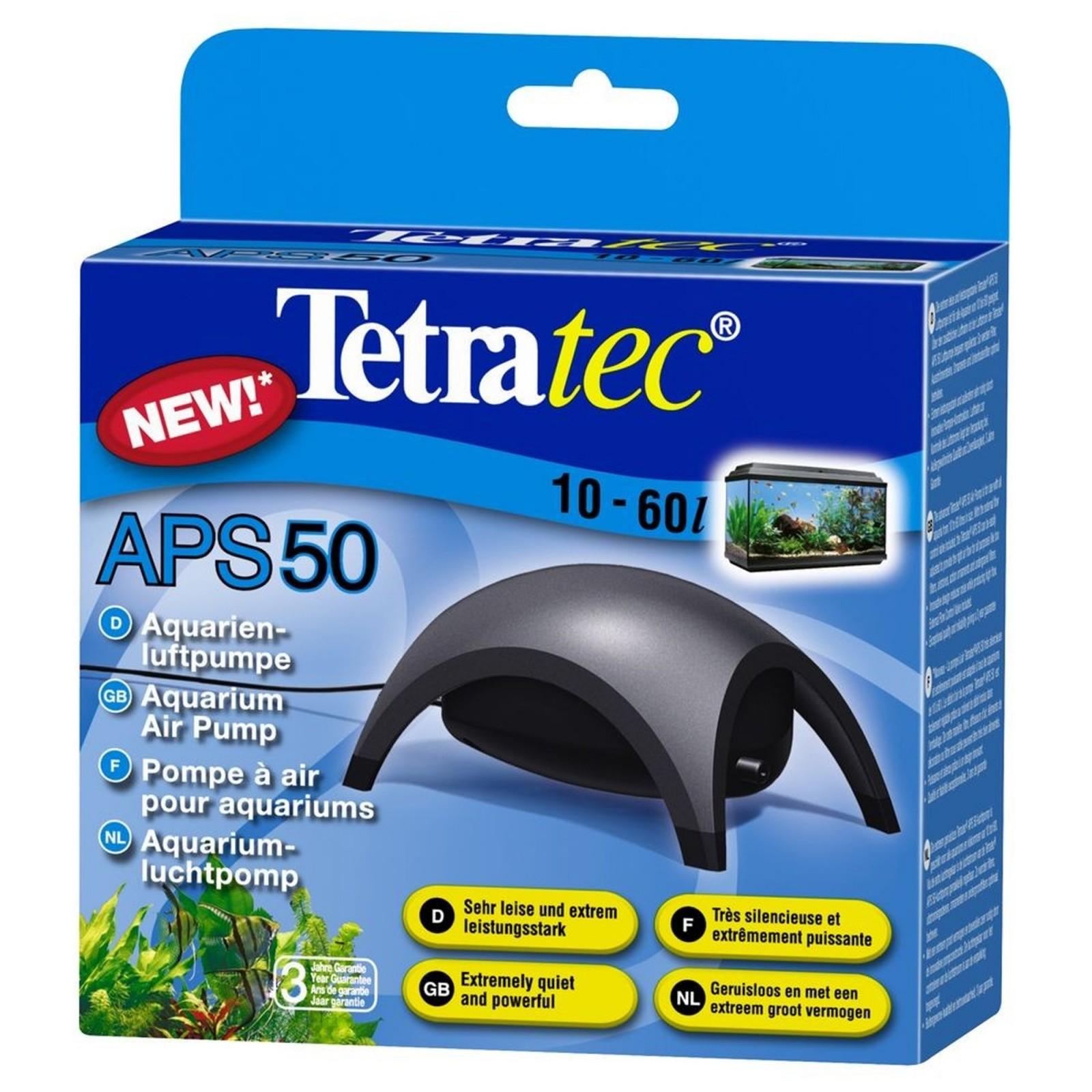 Tetra APS 50 aereatore per acquario 50l/h con rubinetto garanzia 3 anni