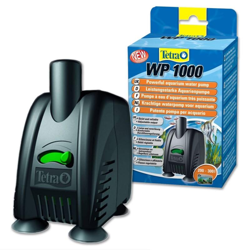 Tetra Water Pumps WP 1000 pompa per acquario regolabile e molto silenziosa