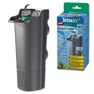 Tetra Filtro EasyCrystal 250 filtro interno a cartucce sostituibili per acquari fino a 40 litri