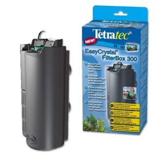 Tetra Filtro EasyCrystal 300 filtro interno per acquari fino a 60 litri con scompartimento per riscaldatore