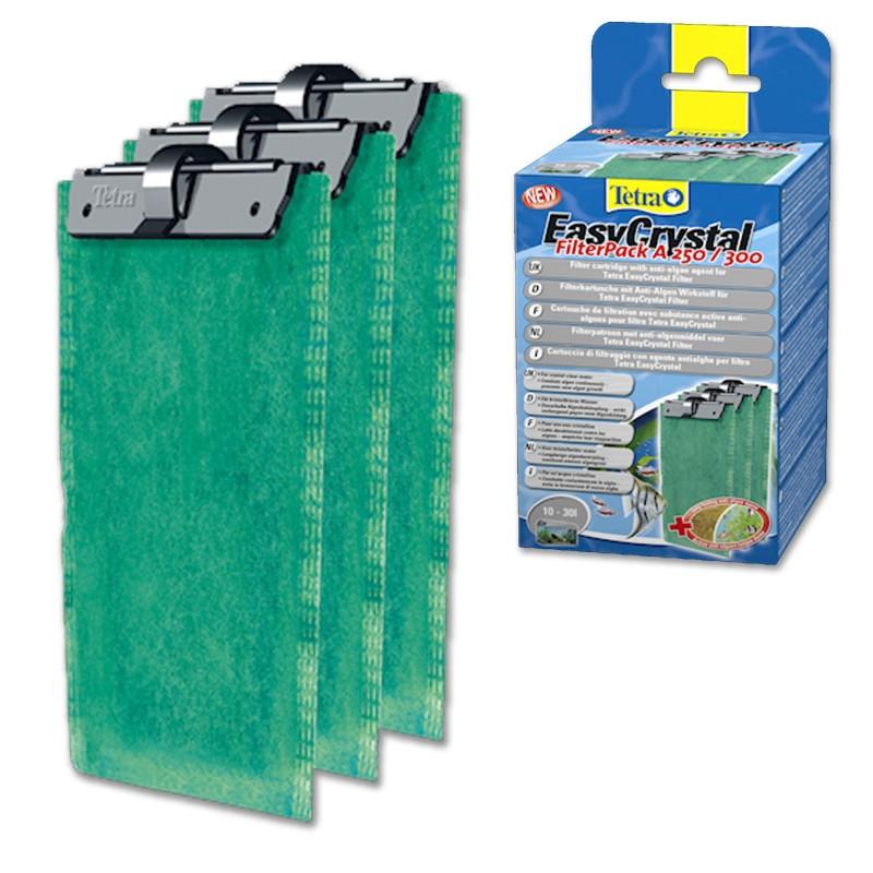 Tetra Cartuccia antialghe EasyCrystal FilterPack Folding Box A 250/300 10-30L per filtri d'acquario