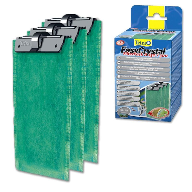 Tetra Cartuccia antialghe EasyCrystal FilterPack Folding Box A 250/300 30-60 L per filtro d'acquario