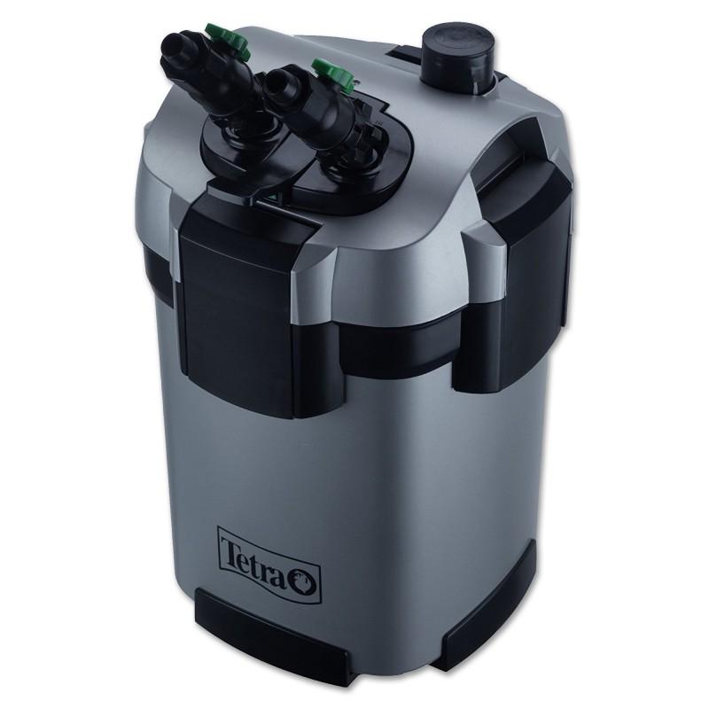 Tetra Filtro esterno EX 600 PLUS completo di materiali filtranti per acquari fino a 120 litri