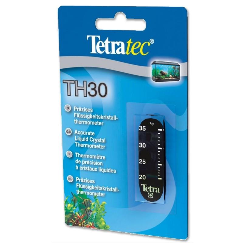 Tetra TH 30 Termometro a cristalli liquidi per acquario lettura precisa