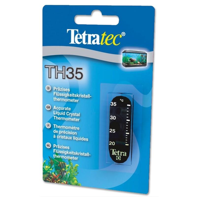 Tetra TH 35 Termometro a cristalli liquidi per acquario lettura precisa