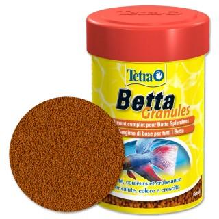 Tetra Betta Mangime in granuli 85 ml mangime in granuli per pesce combattente betta splendens