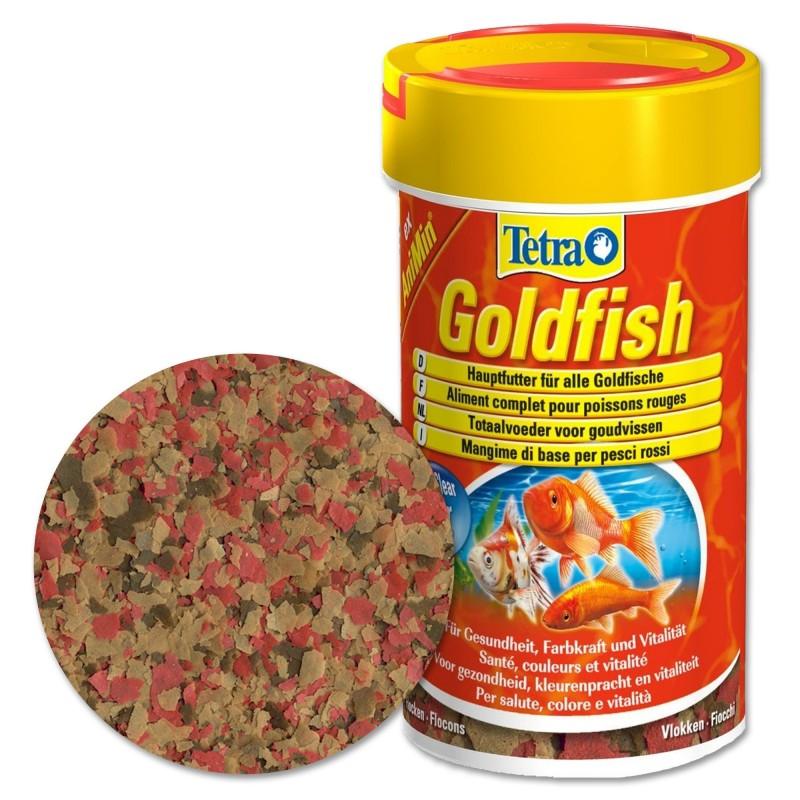 Tetra Goldfish Mangime in fiocchi per pesci rossi 100 ml stimola benessere e vitalità