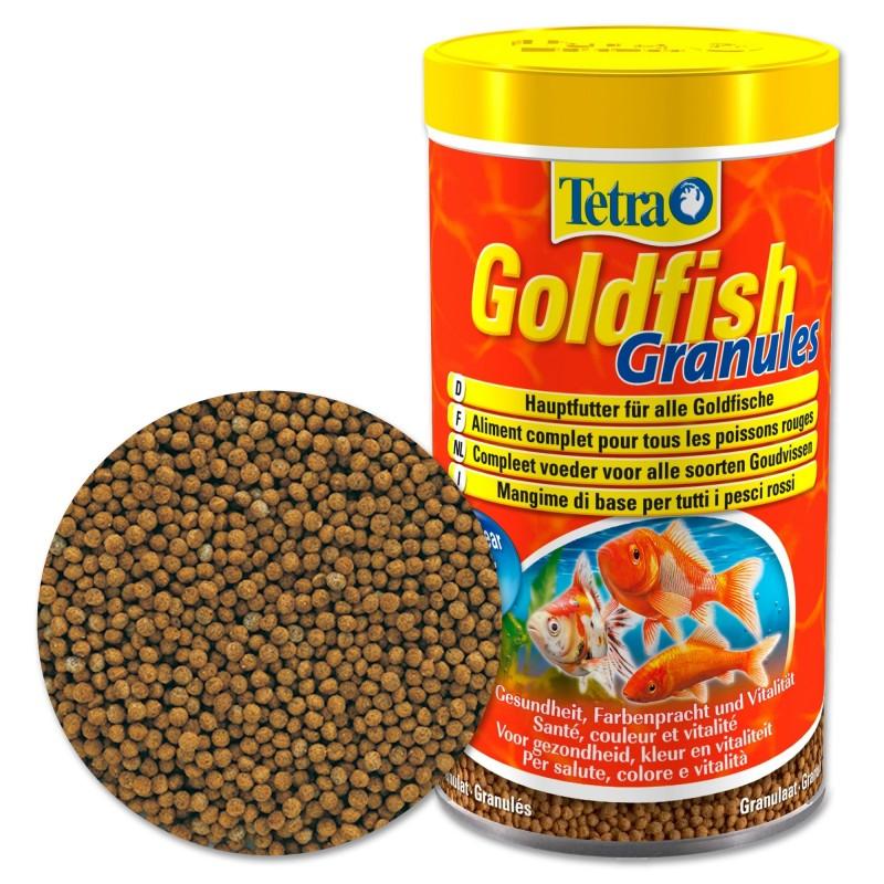 Tetra Goldfish Granules Mangime in granuli per pesci rossi 250 ml stimola benessere e vitalità