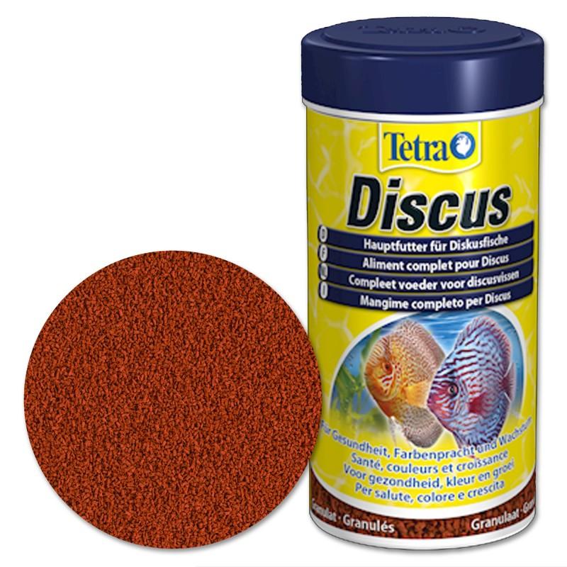 Tetra Discus Mangime completo per Discus 100 ml d'acquario con vitamina C stimola le difese immunitarie