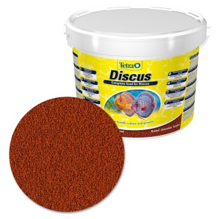 Tetra Discus 10 lt Mangime completo per Discus d'acquario con vitamina C stimola le difese immunitarie