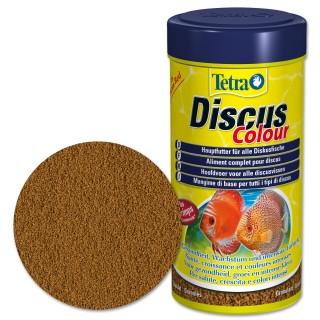 Tetra Discus Colour 250 ml Mangime completo per Discus d'acquario stimola lo sviluppo e la colorazione