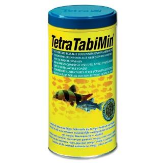 Tetra TabiMin 120 tabs Mangime base in compresse con gamberetti per pesci da fondo d'acquario