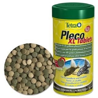 Tetra Pleco XL Tablets 133 tabs Mangime base in compresse per grandi pesci erbivori d'acquario