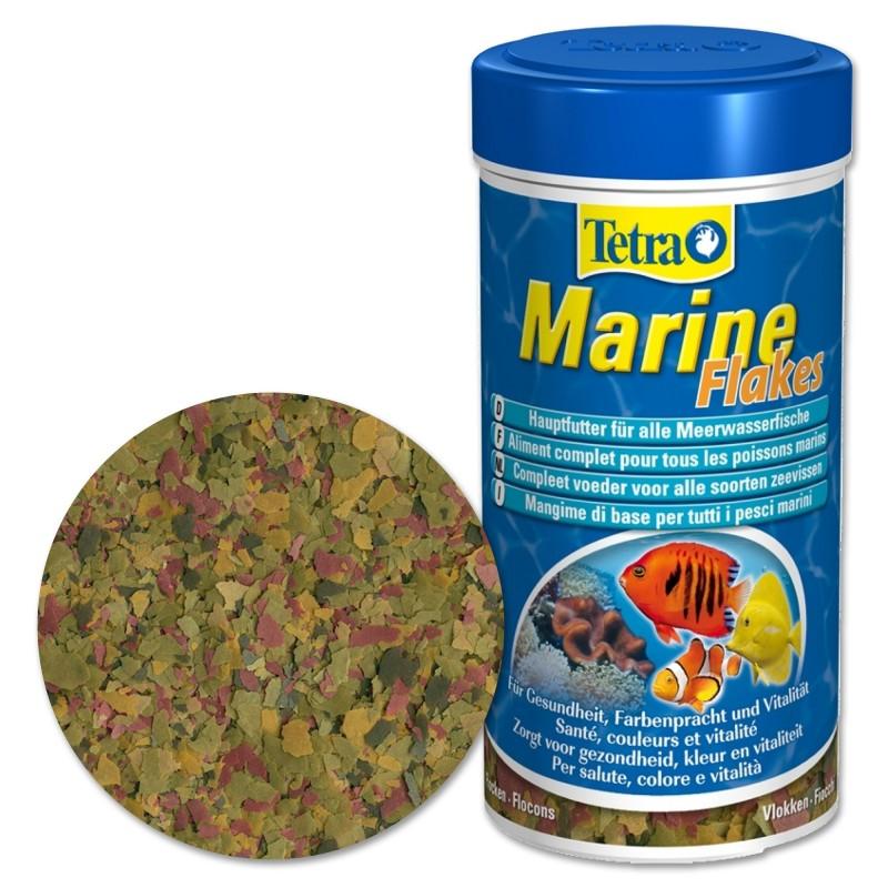 Tetra Marine Flakes 250 ml Mangime in fiocchi per pesci marini d'acquario