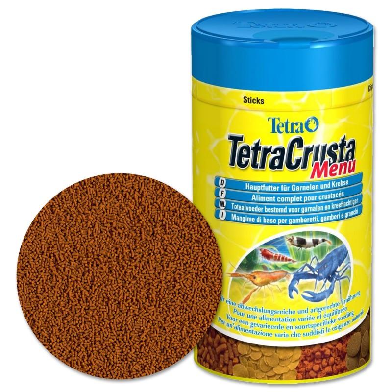 Tetra Crusta Menu 100 ml Mangime di base per caridine gamberi e gamberetti d'acquario