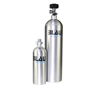 Blau Aquaristic CO2 BOMBOLA 800 gr in alluminio anidride carbonica per acquario
