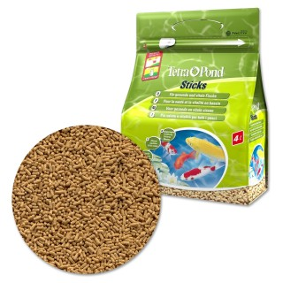 Tetra Pond Sticks 4 L Mangime in stick per pesci da laghetto carpe da giardino