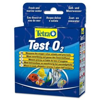 Tetra Test O2 per misurare la quantità di Ossigeno in acquario dolce e marino