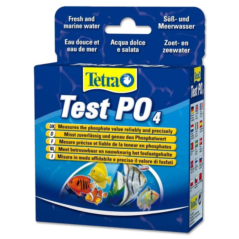 Tetra Test PO4 per misurare i Fosfati in acquario dolce e marino