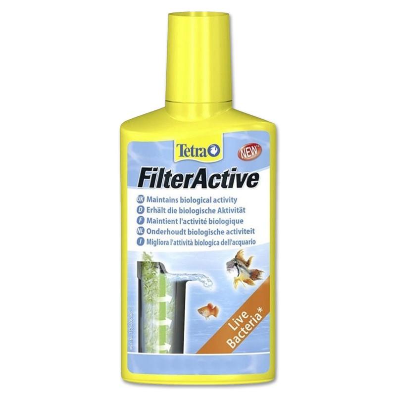 Tetra FilterActive 250 ml Batteri vivi per acquario aiuta il filtro ai cambi d'acqua