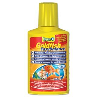Tetra Goldfish EasyBalance 100 ml per pesci rossi riduce la frequenza dei cambi d'acqua in acquario elimina i fosfati