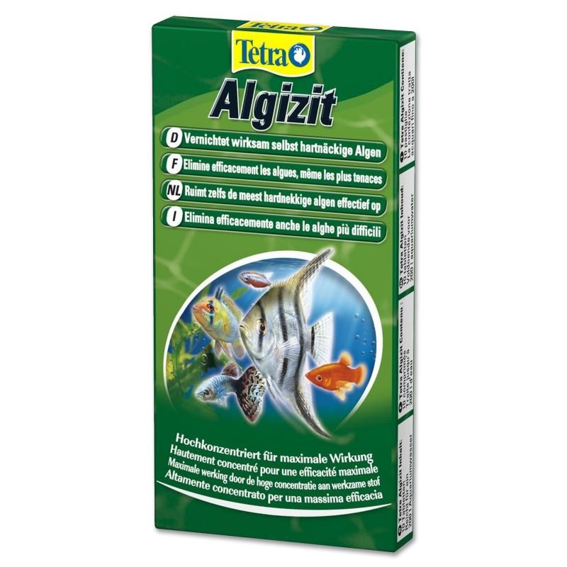 Tetra Algizit Elimina anche le alghe più resistenti in acquario non cambia colore dell'acqua