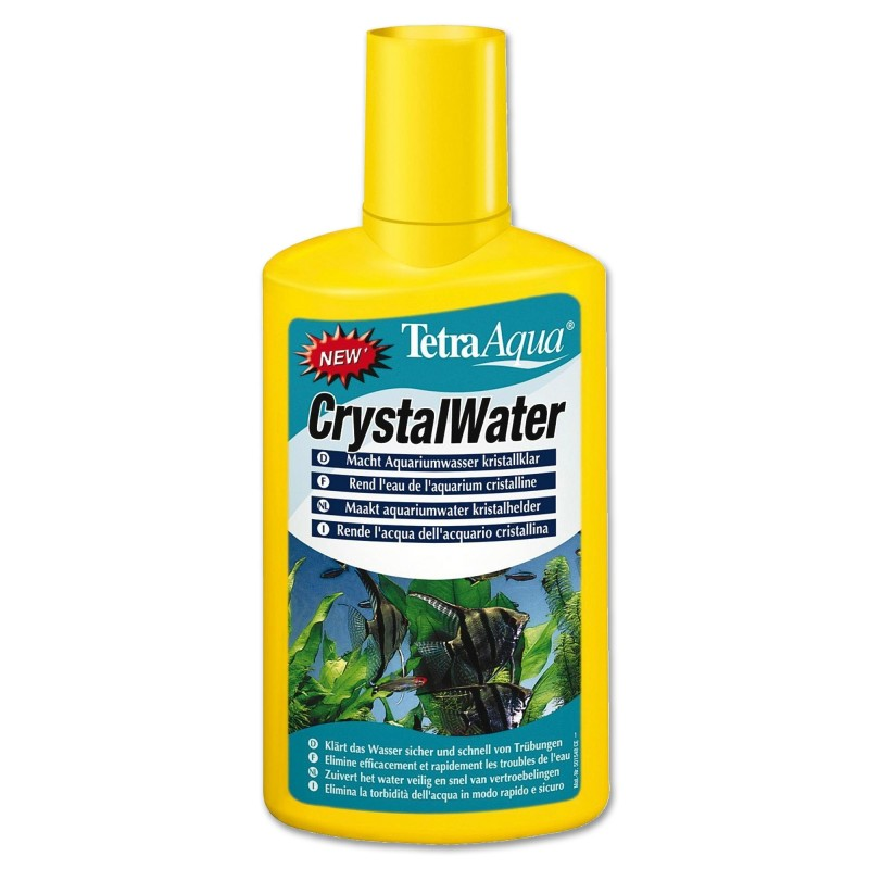 Tetra CrystalWater 100 ml Per un'acqua dell'acquario cristallina elimina particelle in sospensione